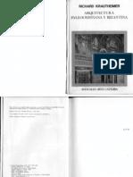 KRAUTHEIMER Arquitectura capítol 2