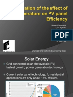Solar Panel PCM Project[1] Update May 26[1]