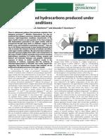 Methane-Derived Hydrocarbon Produced Under Upper-Mantle Condition - NatureGeoScienceJournal