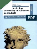 Manual de Tecnicas de Conductas y Modificacion de Conductas