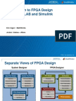 Intro to FPGA Design Using MATLAB and Simulink Published