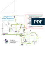 Dec 4 Freeway Closure Map