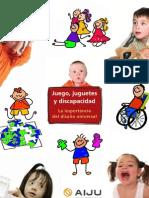 JUEGOS, JUGUETES Y DISCAPACIDAD
