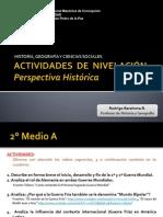 Actividades Perspectiva Histórica 2°M