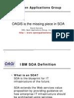 2008 OAGIS is the Missing Piece in SOA