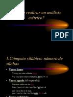 análisis métrico