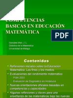 Competencias Basicas en Educacion a Gonz%e1lez Mar%Ed
