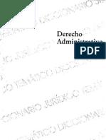 Biblioteca Diccionarios Juridicos Tematicos Vol 3 Derecho Administrativo