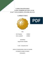 Laporan Umum RU III Plaju 2011