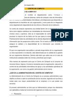 ADMINISTRACIÓN DE CENTROS DE COMPUTO Clase 1mm