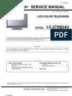 Lc37sb24u Service Manual