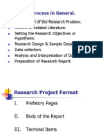 Research Project Guidelines
