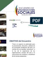Diana Vega - Perspectivas Sociales 2012