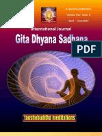 I.J. Gita Dhyan Sadhana - Gds April - June 2012