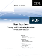 DB2BP System Performance 1008I