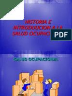 Historia e Introduccion Salud Ocupacional Clase 1 y 2