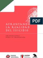 Guia de Orientacion Para La Prevencion Del Suicidio