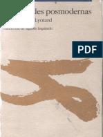 Lyotard, Jean-Francois - Moral Ida Des Posmodernas