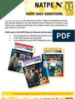 NATPE Daily Advertising