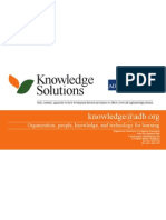 Knowledge Solutions Bookmark