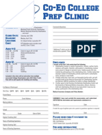 KCC Clinic Registration Form