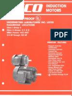 UL Certification for Flameproof Motors