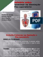 Embolia Pulmonar na Gestação