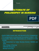 Ph. D in Nursing