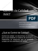 Control Calidad IMRT