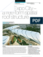 Cairo Expo City – a free-form spatial roof