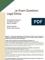 2008 Bar Exam Questions