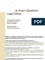 2008 Bar Exam Questions