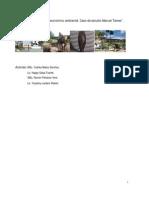 Diagnóstico socioeconómico ambiental. Caso de estudio Manuel Tames