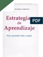 Estrategias de Aprendizaje Bernardo Carrasco