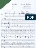Danse macabre - Camille Saint-Saëns - Henri Cazalis - Op. 40 - medium voice & piano
