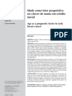 idade como prognostico do cançer