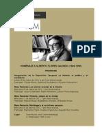 Homenaje a Alberto Flores Galindo  - Programa