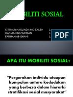 MOBILITI SOSIAL