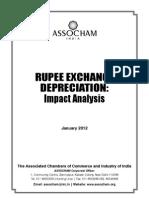 Rupee Exchange Depreciation Impact Analysis-2012