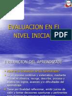 Evaluacion de Los Aprendizajes (Inicial)