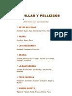 COSQUILLAS Y PELLIZCOS