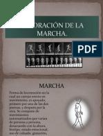 VALORACIÓN DE LA MARCHA