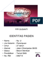 Anamnesis Epilepsi Parsial Kompleks