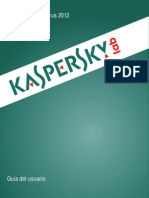 Manual Kaspersky Antivirus 2012