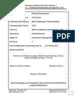 MU0016-Winter Drive-Assignment-2011 - Performance Management and Appraisal - Set 2