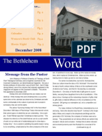 BCC Newsletter Dec 08