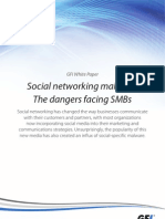 Social networking malware