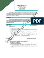 Quantity Surveyor Sample Resume (3)