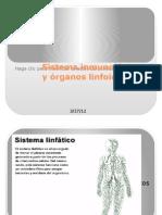 Sistema inmunológico y órganos linfoides