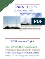 Antenna Topic